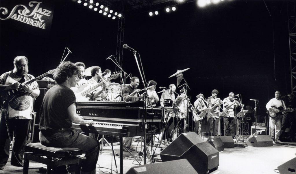 Irakere 1988, dall'archivio Jazz in Sardegna. Foto di Agostino Mela