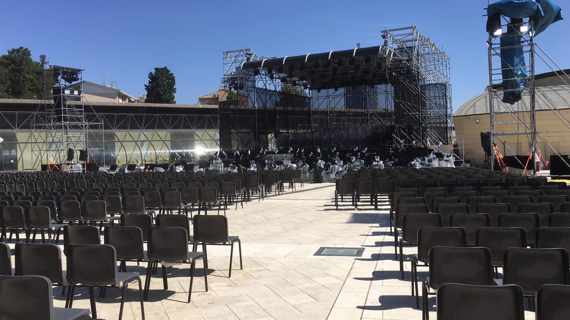 Arena Nazzari del Parco della Musica di Cagliari è una delle prestigiose location del Festival Jazz in Sardegna - European Jazz Expo 2021
