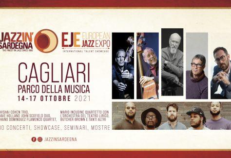Festival Jazz in Sardegna - European Jazz Expo - 14-17 Ottobre 2021 - Cagliari